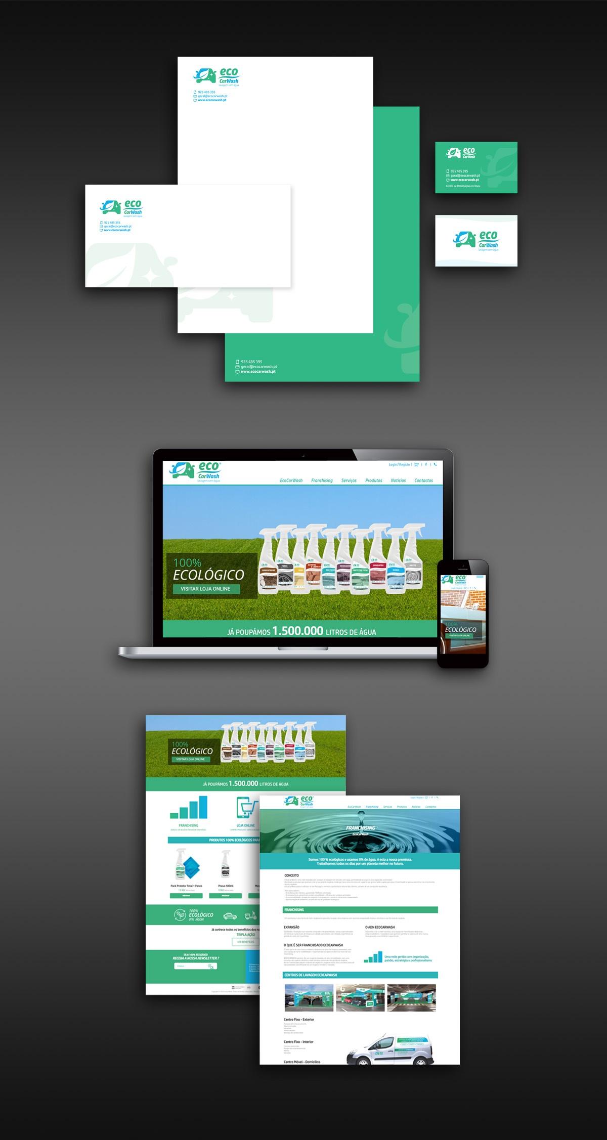 EcoCarWash Branding Website